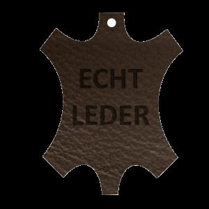 QSack Echt Leder Sitzkissen Bohème Braun