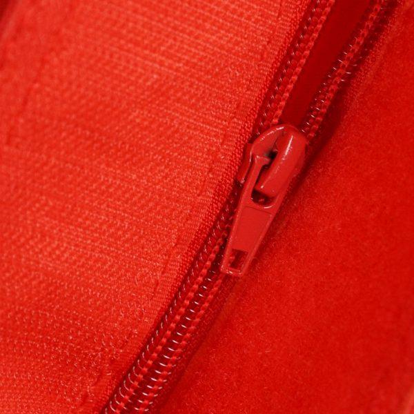 QSack Bezug rot Reißverschluss