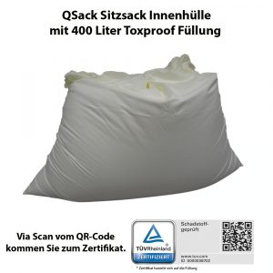 QSack Innenhülle mit Toxproof Füllung