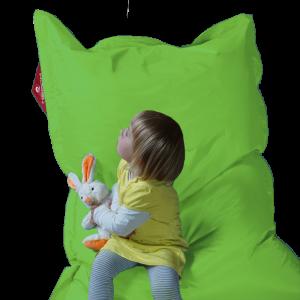 Kindersitzsack QSack, deutsche Qualitätsfüllung