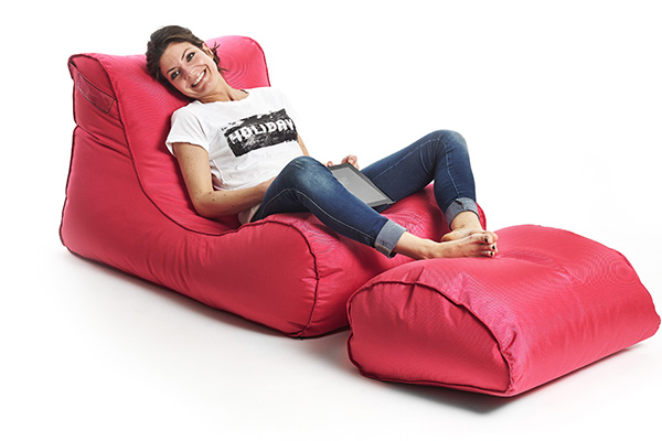 x long sitzsack outdoor von xpouf ein hochwertiges. Black Bedroom Furniture Sets. Home Design Ideas