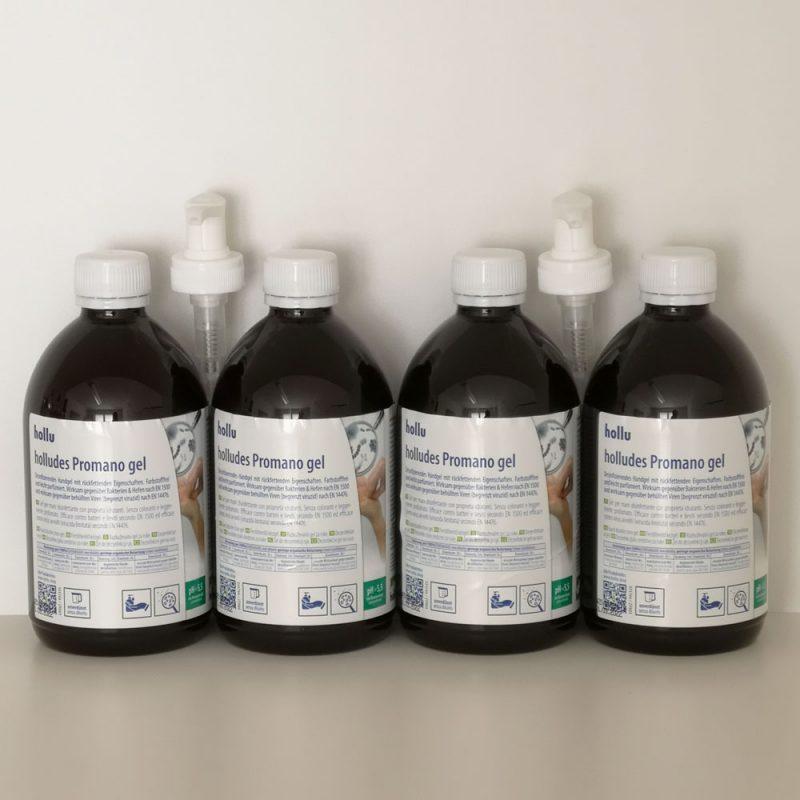 Handdesinfektion Gel mit Pumpspender Desinfektionsmittel Österreich