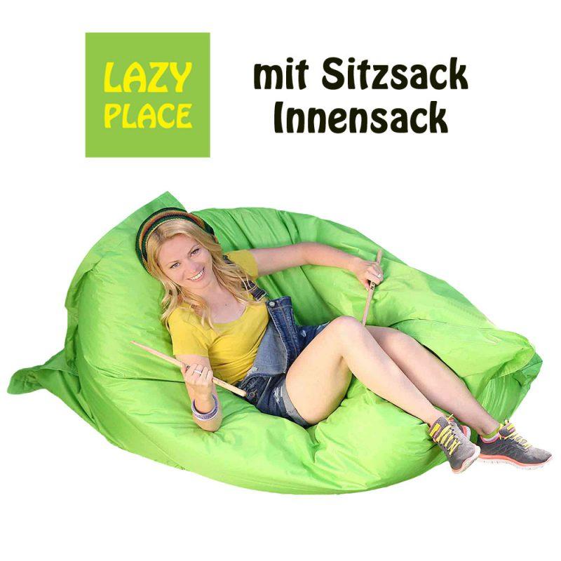Lazy Place Sitzsack Outdoor apfelgrün