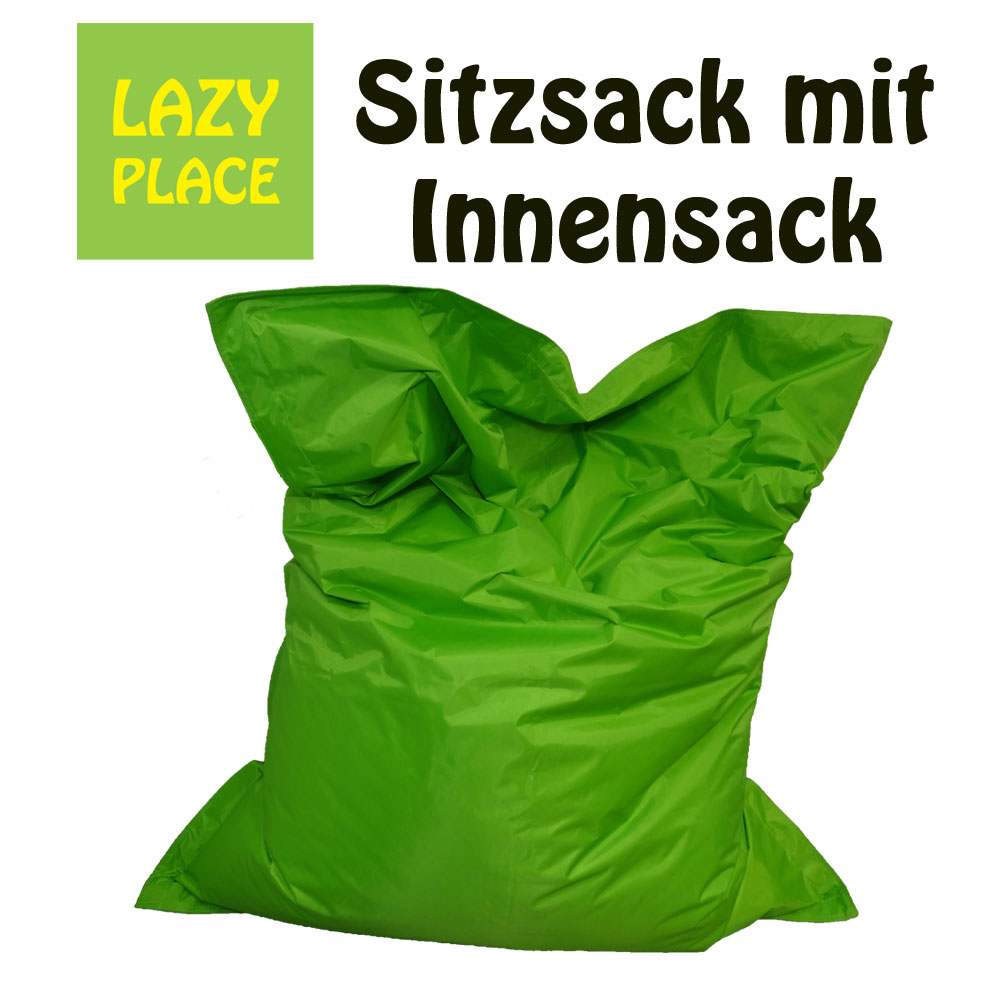 lazy place sitzsack outdoor im univok sitzsack shop erh ltlich. Black Bedroom Furniture Sets. Home Design Ideas
