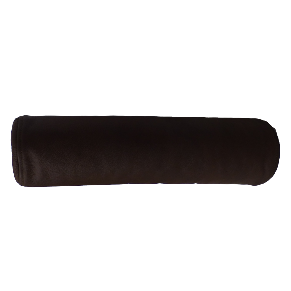 nackenrolle aus leder und bio dinkelspelzen aus sterreich. Black Bedroom Furniture Sets. Home Design Ideas