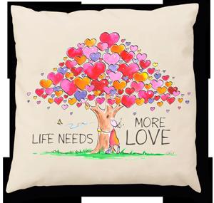 Oups Zirbenkissen Life needs more love