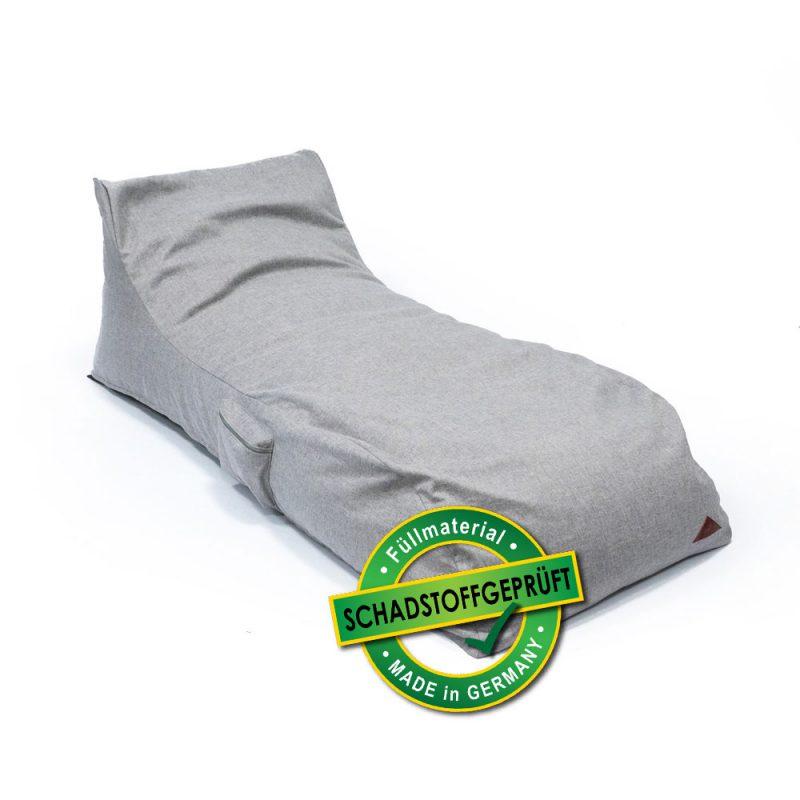 QSack Indoor Sitzsack Liege EPS schadstoffgeprüft
