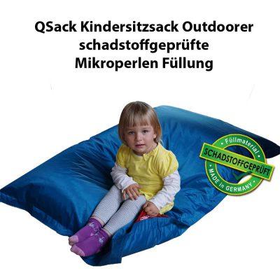 Kinder Sitzsack Füllung schadstoffgeprüft