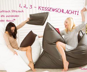 QSack Kunstleder Sitzsack Kultsack Aktion