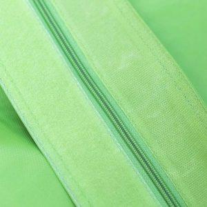 QSack Sitzsack Bezug Klettverschluss und Reißverschluss apfelgrün