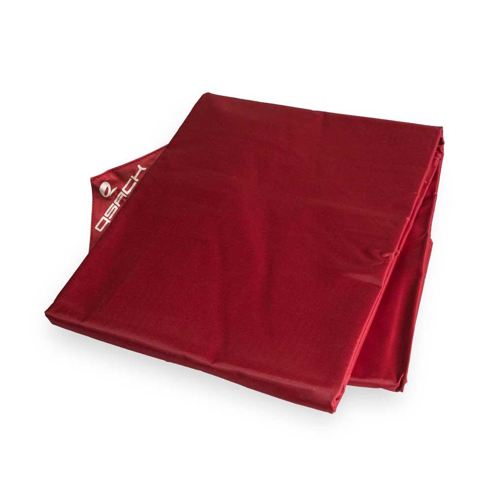 QSack Sitzsack Bezug rot