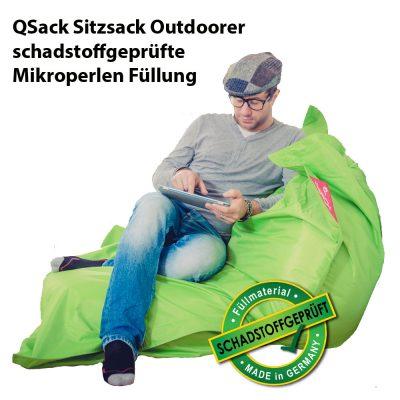 QSack Sitzsack Outdoorer