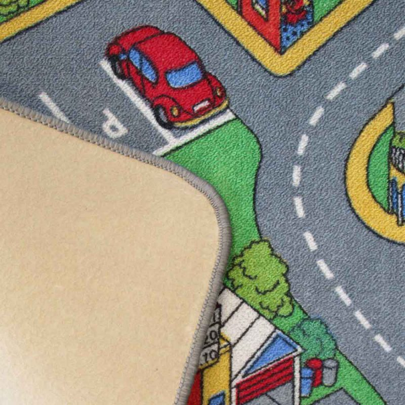 Spielteppich Straße Filzrücken