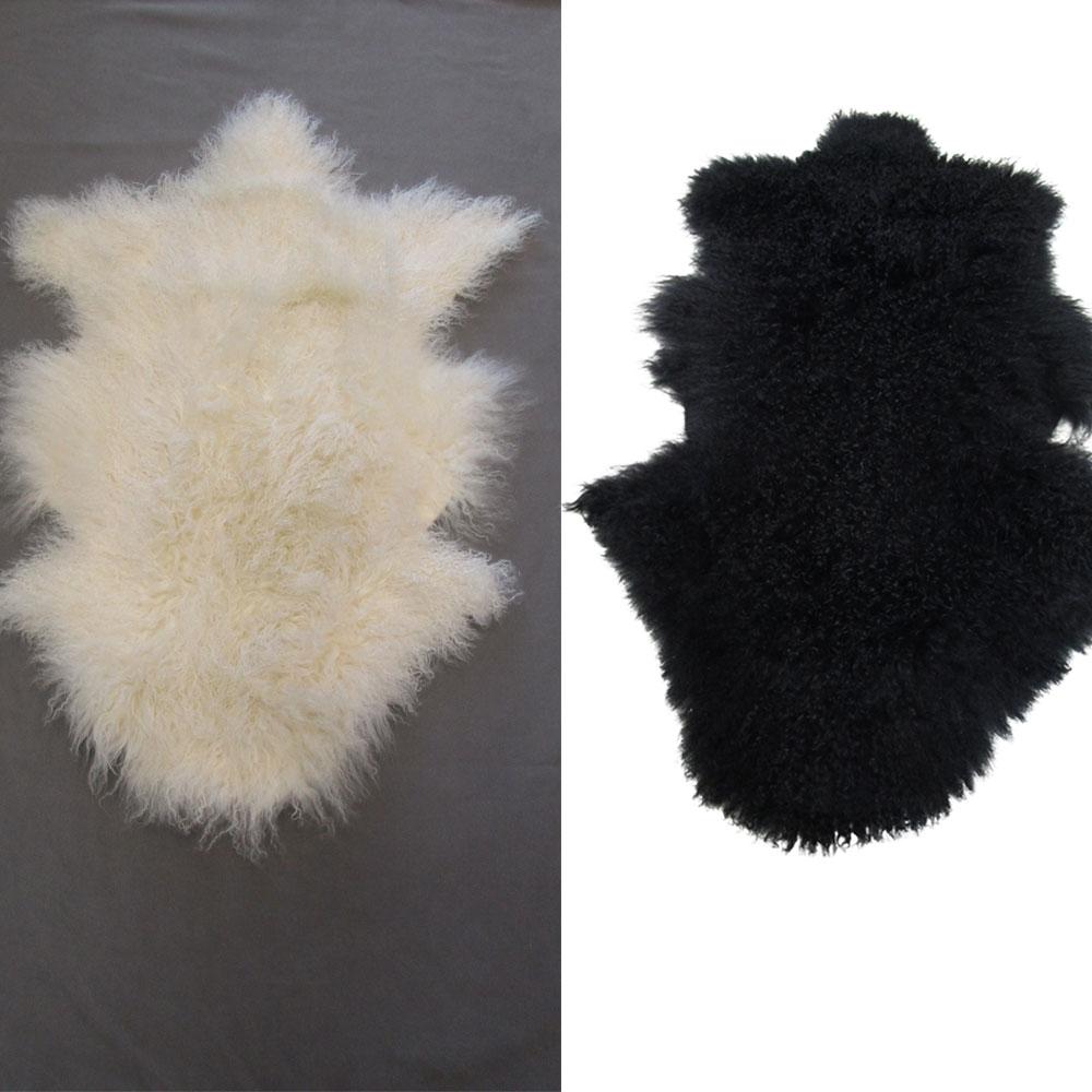 lammfell tibet in diversen farben von univok. Black Bedroom Furniture Sets. Home Design Ideas