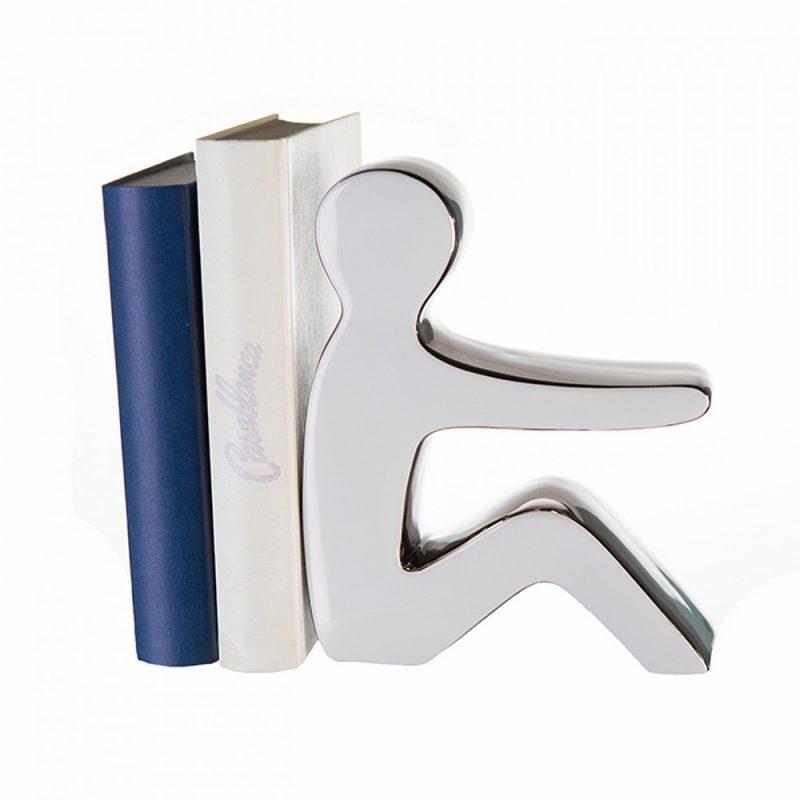 Univok Keramik Buchstütze für Regal