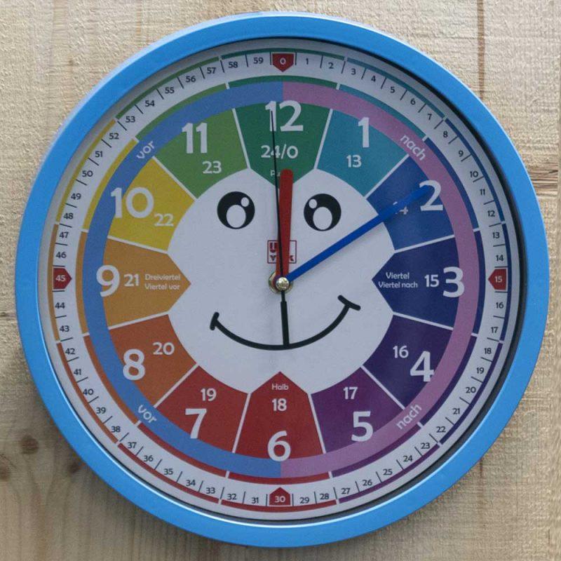 Univok Kinderuhr Wanduhr Uhr lernen Lernuhr