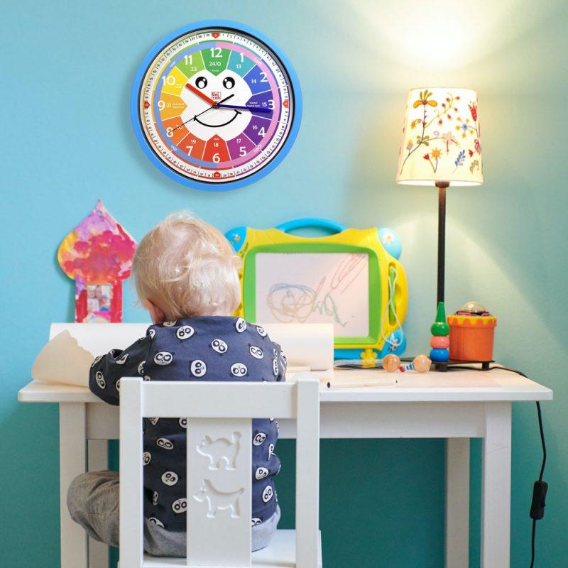 Univok Kinderzimmer Uhr