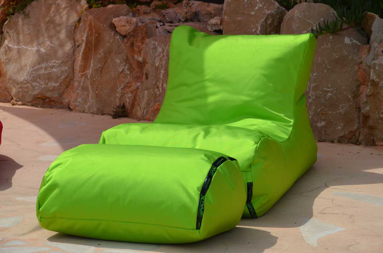 X Long Sitzsack Outdoor Von Xpouf Ein Hochwertiges Loungemöbel