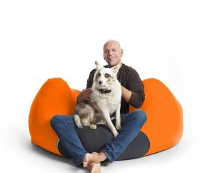 X Pouf Sitzsack Hund