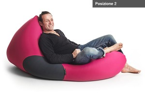 X Pouf X-Shark Indoor Sitzsack